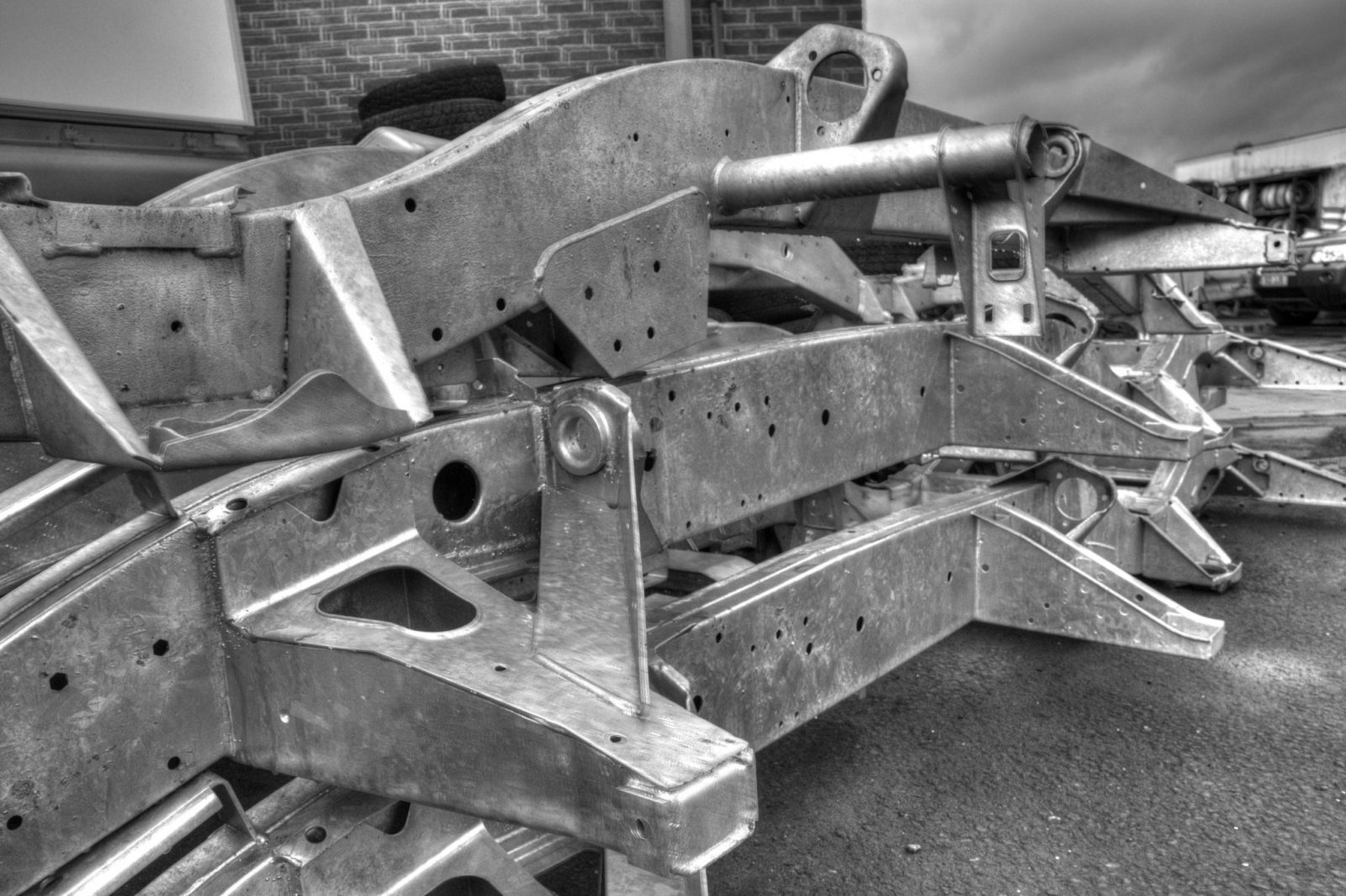 Galvanised Chassis  Galvanised Chassis