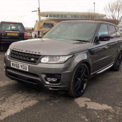 2016 Range Rover Sport 3.0SDV6 HSE Dynamic With Stealth Pack, 1 Owner, 7074 Miles, VAT Content Reclaimable
