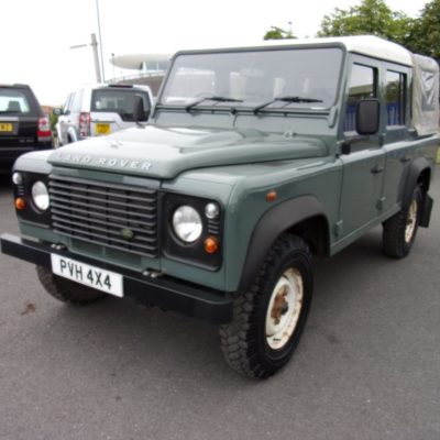 2008/08 Land Rover Defender 110 Double Cab 2.4 TDCI 1 Owner Full Service History 61,945 Miles