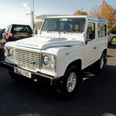 2015/15 Land Rover Defender 90 County Station Wagon 2.2 TDCI 1 Owner County Extras 32,001 Miles