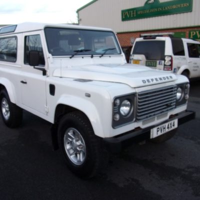 2015/15 Land Rover Defender 90 County Station Wagon 2.2 TDCI 1 Owner County Extras 28,532 Miles