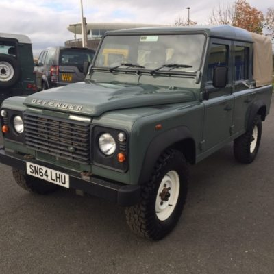 2014 Land Rover Defender 110 2.2 TDCI Pick Up, 1 Owner, Full Service History 53,905 Miles