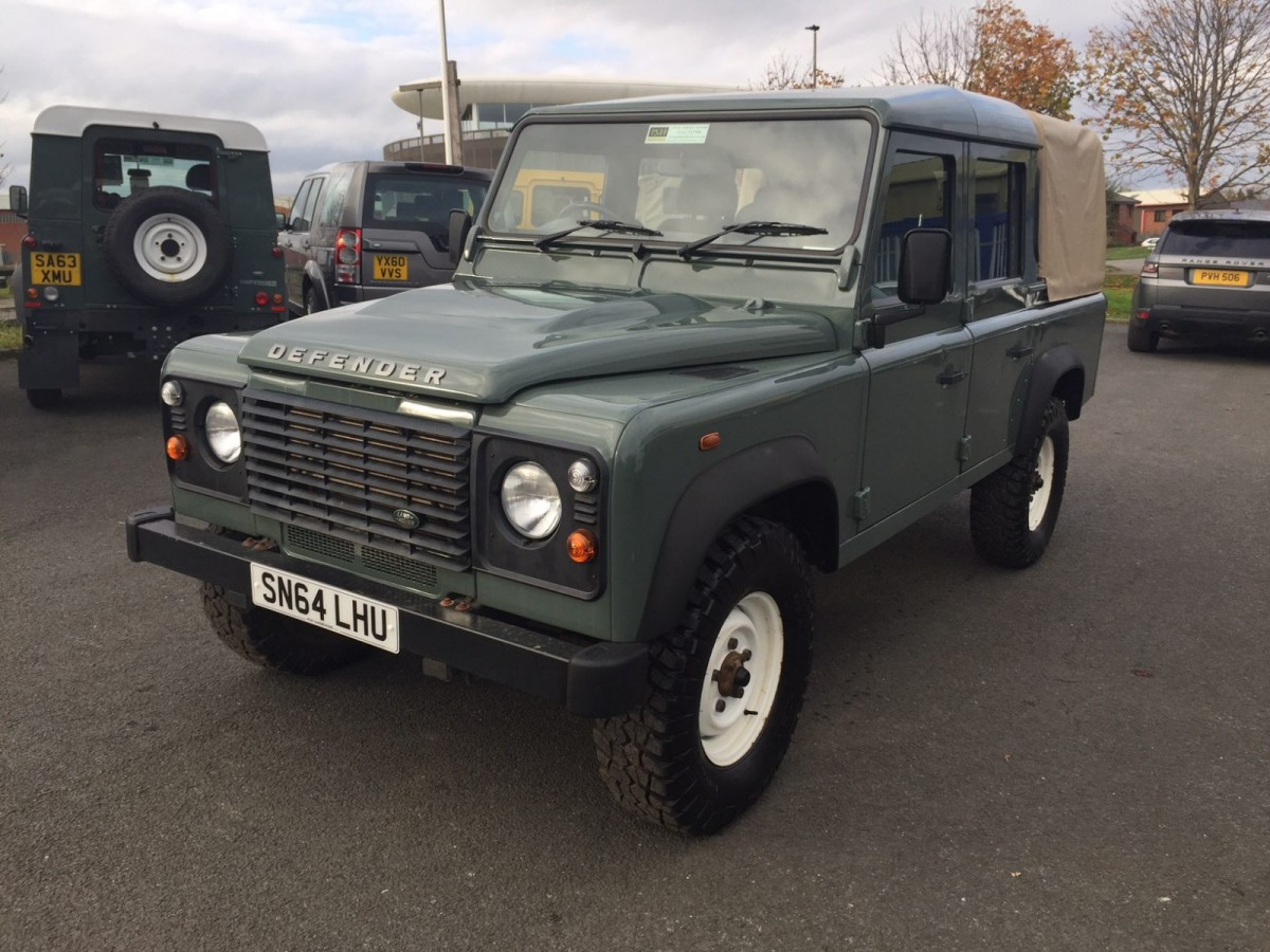2014 land rover defender 110 2 2 tdci pick up 1 owner full service history 53 905 miles pvh