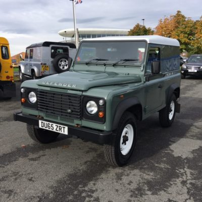 1998 Land Rover Defender 90 Ex-MOD 300 TDI 78,111 Miles, This Vehicle Is Subject To VAT, Price POA